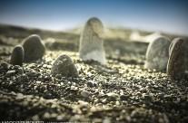 Una Stonehenge sulla spiaggia